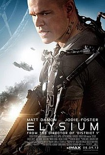 2013 American science fiction action thriller film directed by Neill Blomkamp