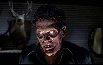 Ash Williams - Deadite Ash in Evil Dead II. Deadite Ash is a demonically possessed evil twin of Ash.