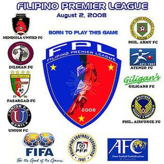 Pasargad F.C. - Poster of Filipino Premier League.