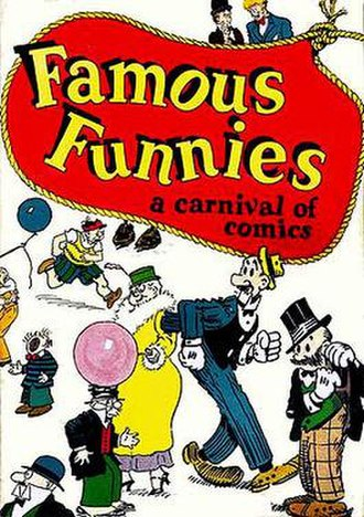American comic book - Eastern Color Press' Famous Funnies: A Carnival of Comics (Eastern Color Printing, 1933).