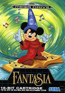 <i>Fantasia</i> (video game) 1991 video game