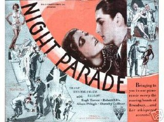 <i>Night Parade</i> 1929 film directed by Malcolm St. Clair