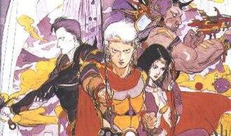 Final Fantasy II - Image: Final Fantasy II party