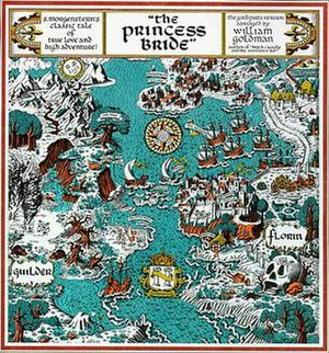 The Princess Bride - Map of Florin and Guilder