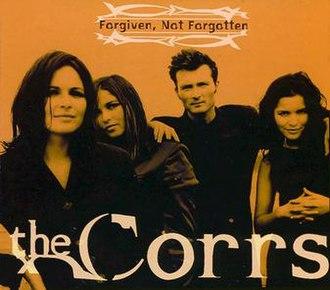 Forgiven, Not Forgotten (song) - Image: Forgiven, Not Forgotten Single Cover