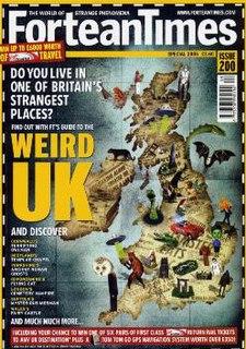 <i>Fortean Times</i> British monthly magazine devoted to the anomalous phenomena