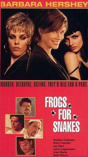 Frogs for Snakes - Theatrical release poster