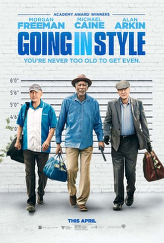 Going in Style (2017 film) - Theatrical release poster