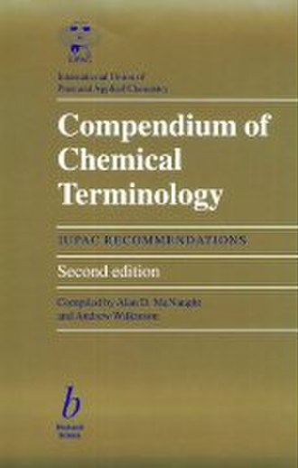 IUPAC books - The front cover of the second edition of the Compendium of Chemical Terminology.