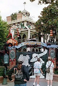 Just prior to Halloween, the Haunted Mansion c...