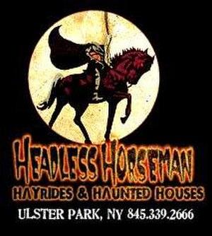 Headless Horseman Hayrides - Image: Headless logo