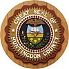 Official seal of Huntingdon County