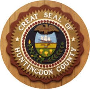 Huntingdon County, Pennsylvania - Image: Huntingdon County PA seal