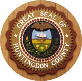 Huntingdon County, Pennsylvania - Image: Huntingdon County PA seal