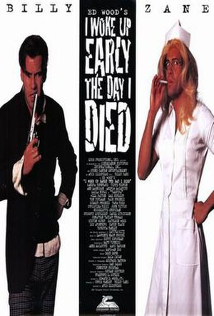 I Woke Up Early the Day I Died - Theatrical film poster