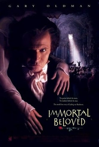 Immortal Beloved (1994 film) - Theatrical release poster