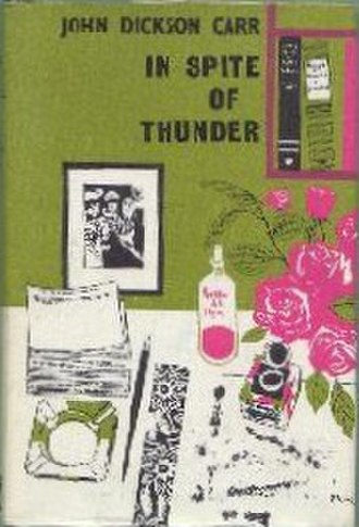 In Spite of Thunder - First UK edition
