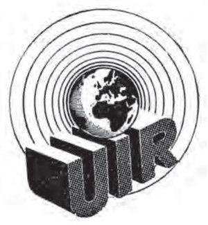International Broadcasting Union - Image: International Broadcasting Union, logo (1939 1945)