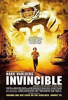 <i>Invincible</i> (2006 film) 2006 American sports drama film by Ericson Core