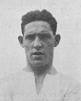Jack Allen (footballer, born 1903) - Allen in 1924.