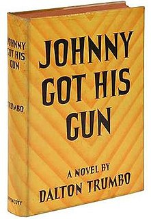 <i>Johnny Got His Gun</i> book by Dalton Trumbo