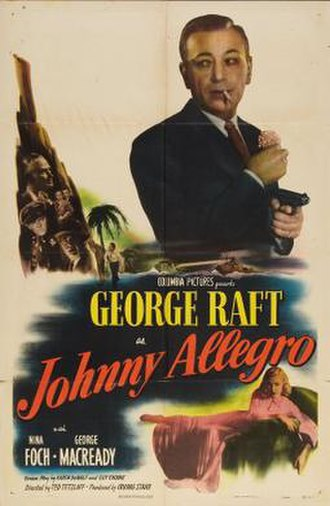 Johnny Allegro - Theatrical release poster