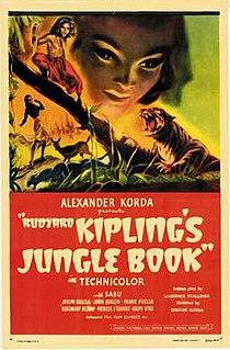 <i>Rudyard Kiplings Jungle Book</i> 1942 film by Zoltan Korda