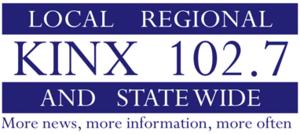 KINX - Image: KINX 102.7 logo