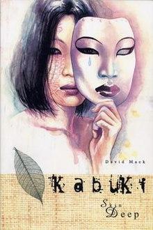 kabuki mask template - kabuki comics wikipedia