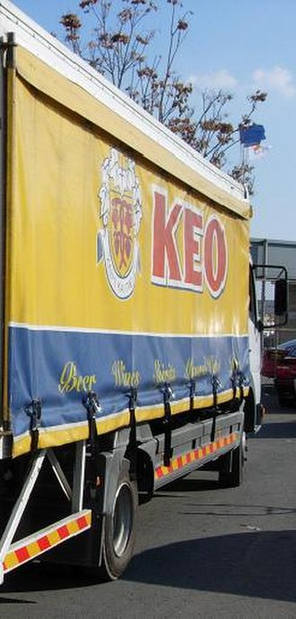 KEO (company) - Keo delivery truck