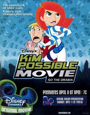 Kim Possible Movie: So the Drama - Promotional poster