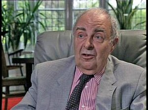 Nigel Kneale - Nigel Kneale in 1990, discussing his career on BBC Two's The Late Show