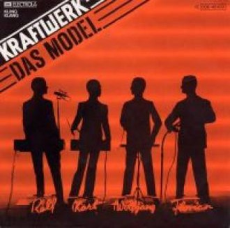 Das Model - Image: Kraftwerk Das Model single cover