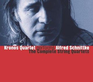 <i>Kronos Quartet Performs Alfred Schnittke: The Complete String Quartets</i> 1998 studio album by Kronos Quartet