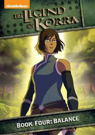 The Legend of Korra (season 4) - Region 1 DVD cover art