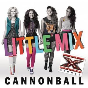 Cannonball (Damien Rice song) - Image: Little mix cannonball winner