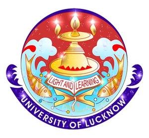 University of Lucknow - Image: Logolkouniv
