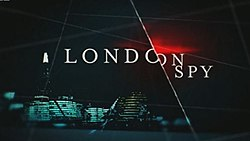 Series title over a London scene