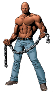 Luke Cage comic book character