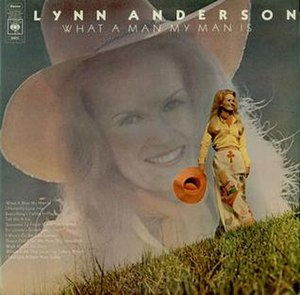 What a Man My Man Is (album) - Image: Lynn Anderson My My Man