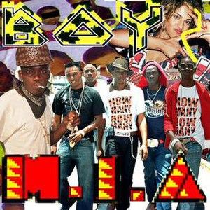 Boyz (song) - Image: MIA Boyzsing