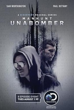 Manhunt: Unabomber - Television release poster