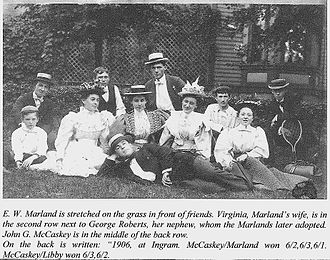 101 Ranch Oil Company - Marland and McCaskey photo, Pittsburgh 1906