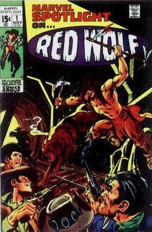 Marvel Spotlight - Image: Marvel Spotlight 1971 01 cover