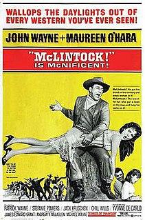 <i>McLintock!</i> 1963 film by Andrew V. McLaglen