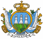Military Coat of Arms of the Republic of San Marino.png