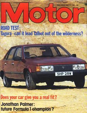 The Motor - 16 May 1981 cover