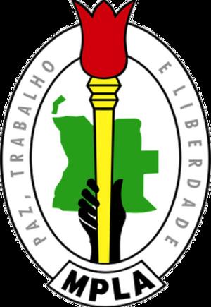 MPLA - Image: Movimento Popular de Libertação de Angola (logo)