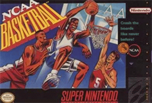 NCAA Basketball (video game) - North American cover art