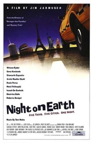 Night on Earth - Film poster for Night on Earth